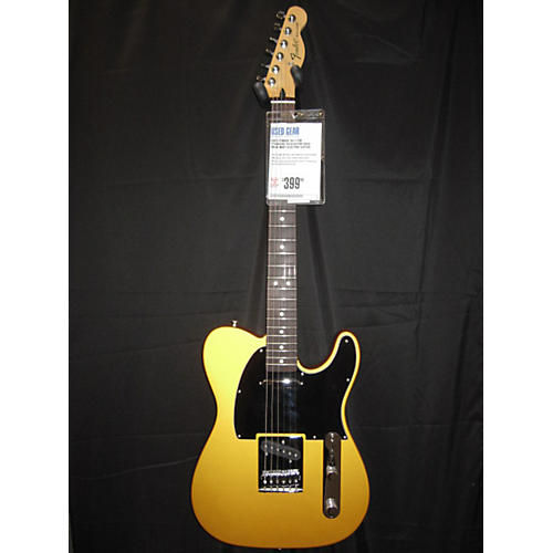 Fender FSR Standard Telecaster Gold Solid Body Electric Guitar-thumbnail