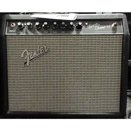 Fender FSR Super Champ X2 15W 1x10 Tube Guitar Combo Amp
