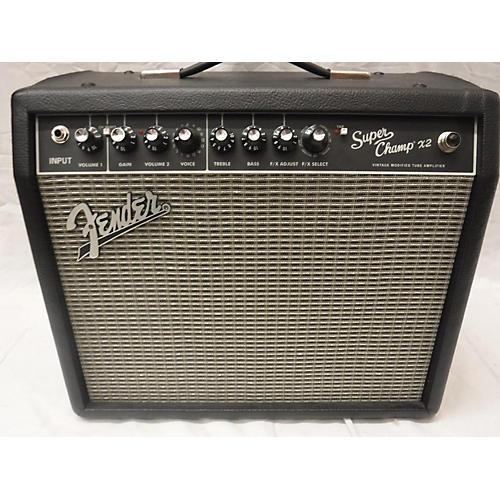 Fender FSR Super Champ X2 15W 1x10 Tube Guitar Combo Amp-thumbnail