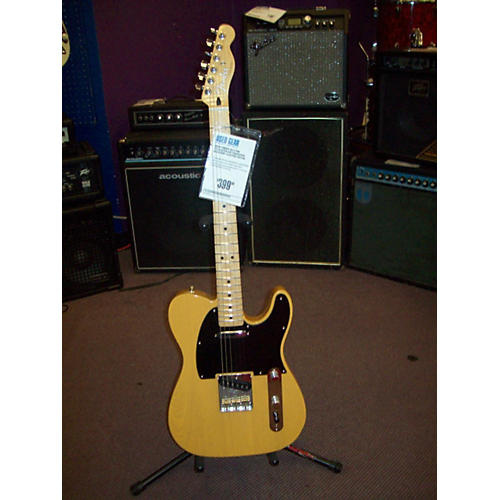 Fender FSR Telecaster Butterscotch Solid Body Electric Guitar-thumbnail