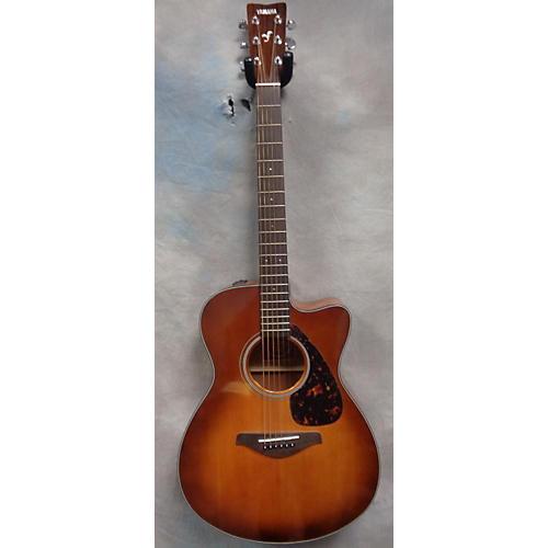 Yamaha FSX700SC Sandburst Acoustic Electric Guitar-thumbnail