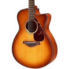 Yamaha FSX700SC Solid Top Concert Cutaway Acoustic-Electric Guitar Sand Burst