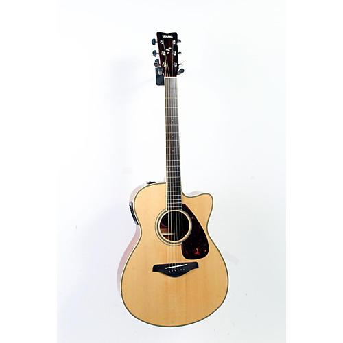 Yamaha FSX720SC Solid Top Concert Cutaway Acoustic-Electric Guitar-thumbnail