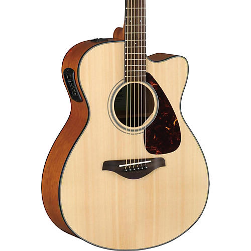 Yamaha FSX800C Small Body Acoustic-Electric Guitar-thumbnail