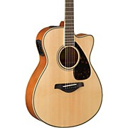 Yamaha FSX820C Small Body Acoustic-Electric Guitar