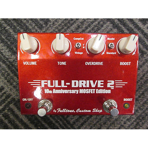 Fulltone FULL-DRIVE 2 10TH ANNIVERSARY MOSFET EDITION Effect Pedal