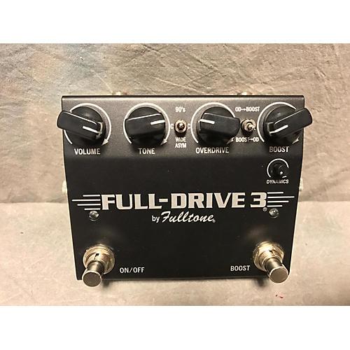 Fulltone FULL DRIVE 3 Effect Pedal