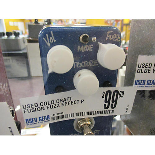 In Store Used FUSION FUZZ Effect Pedal