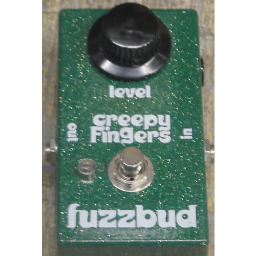 In Store Used FUZZBUD Green Effect Pedal-thumbnail