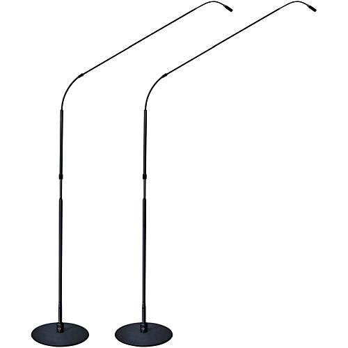 Earthworks FW730MP 7 Foot FlexWand With Cast Iron Base Matched Pair Hypercardioid