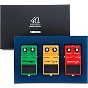 Boss FX 40th Anniversary Pedal Box Set
