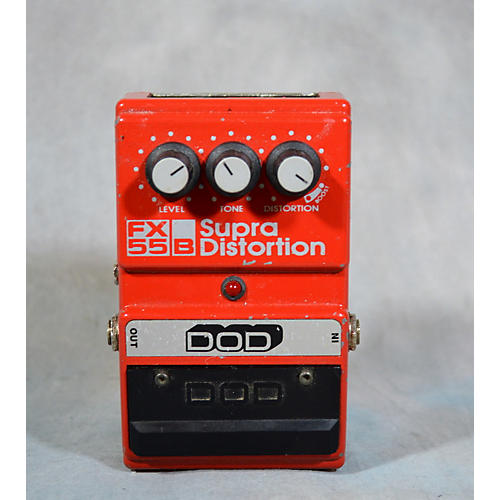 DOD FX 55B SUPRA DISTORTION Effect Pedal-thumbnail