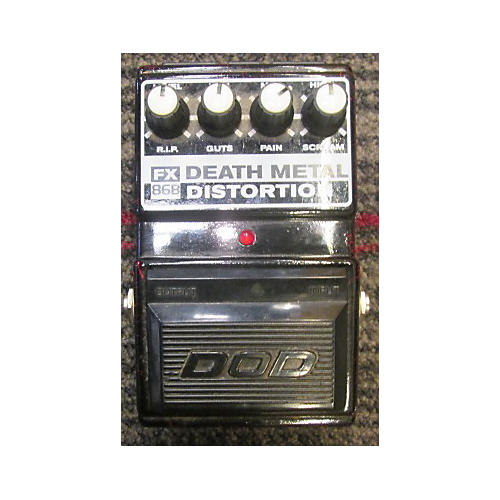 used dod fx death metal distortion effect pedal guitar center. Black Bedroom Furniture Sets. Home Design Ideas