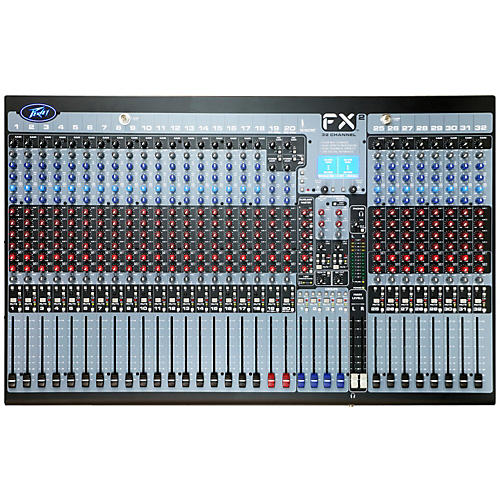 Peavey FX2 32 32-Channel Mixer with Digital Output Processing-thumbnail