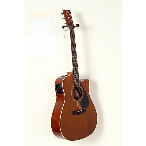 blemished yamaha fx370c acoustic electric guitar dark