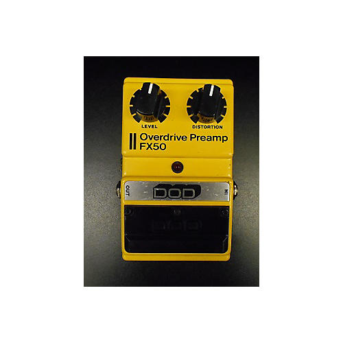 DOD FX50 Overdrive Preamp Effect Pedal