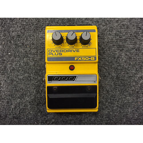 DOD FX50-b OVERDRIVE PLUS MADE IN THE USA Effect Pedal