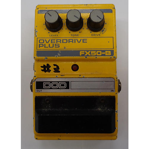 DOD FX50B Overdrive Plus Effect Pedal