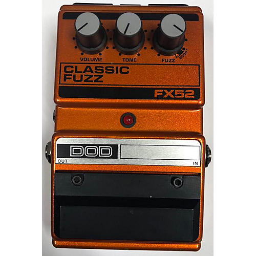 DOD FX52 CLASSIC FUZZ Effect Pedal