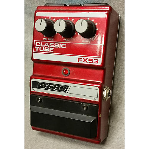 DOD FX53 Classic Tube Effect Pedal