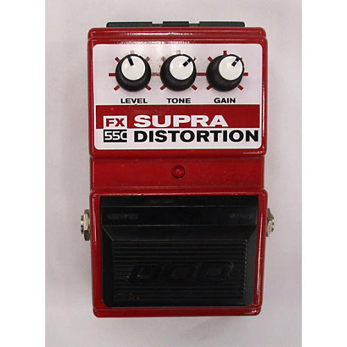 DOD FX55C Supra Distortion Effect Pedal-thumbnail