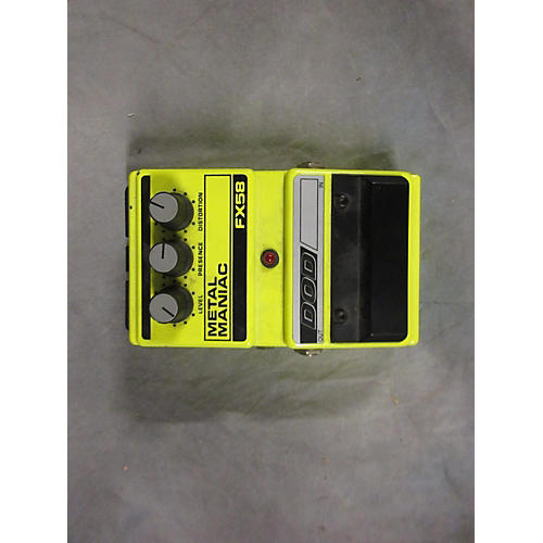 DOD FX58 METAL MANIAC Effect Pedal-thumbnail