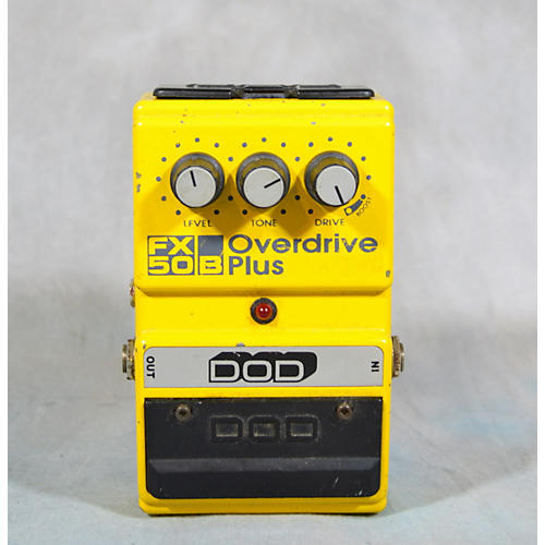 DOD FX5OB OVERDRIVE PLUS Effect Pedal