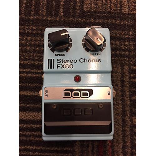 DOD FX60 STEREO CHORUS Effect Pedal-thumbnail