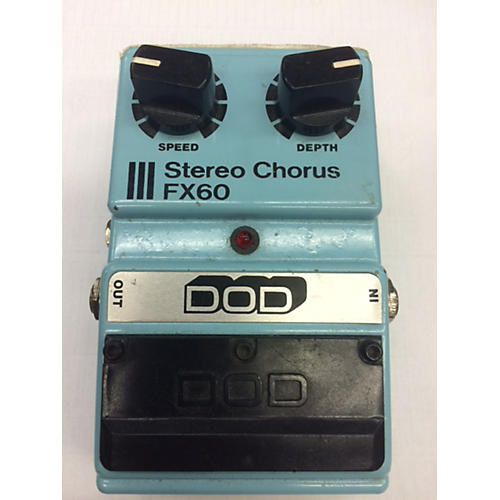DOD FX60 STEREO CHORUS Effect Pedal
