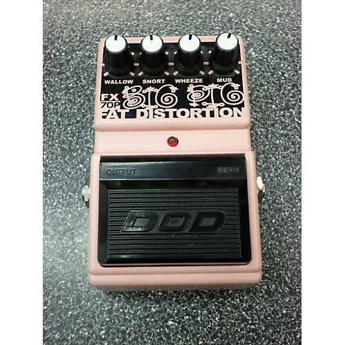 DOD FX70P Big Fat Pig Distortion Effect Pedal