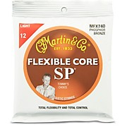 Martin FX740 SP Flexible Core Phosphor Bronze Light Acoustic Guitar Strings