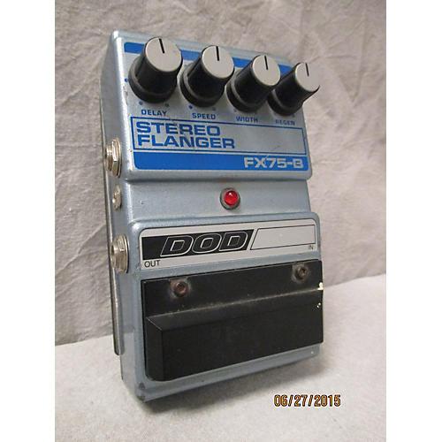 DOD FX75-B Stereo Flanger Blue Effect Pedal-thumbnail