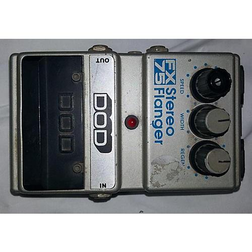 DOD FX75 STEREO FLANGER Effect Pedal