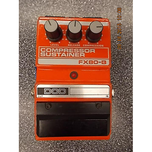 DOD FX80-B COMPRESSOR SUSTAINER Effect Pedal-thumbnail