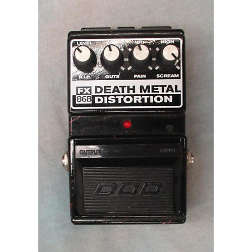 DOD FX86B BLACK AND RED Effect Pedal