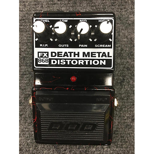 DOD FX86B DEATH METAL DISTORTION Effect Pedal-thumbnail