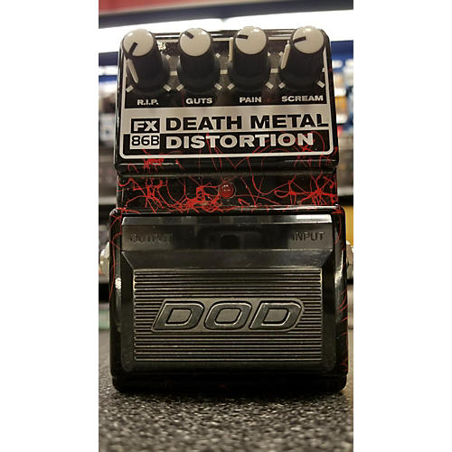 used dod fx86b death metal distortion effect pedal guitar center. Black Bedroom Furniture Sets. Home Design Ideas