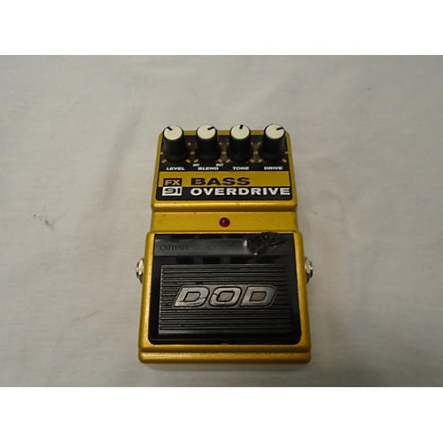 DOD FX91 Bass Effect Pedal