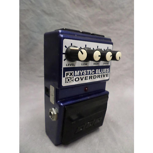 DOD FXI02 Mystic Blues Overdrive Effect Pedal-thumbnail