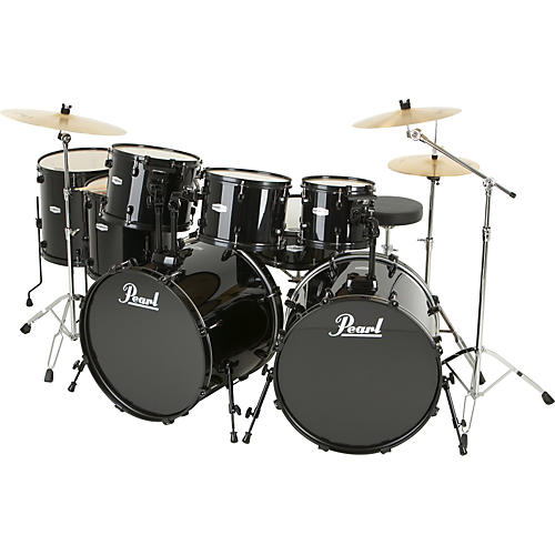 Pearl FZ 8-Piece Double-Bass Drum Set-thumbnail
