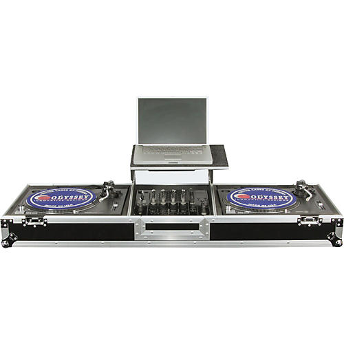 Odyssey FZGSDJ12W Glide Style DJ Coffin Case