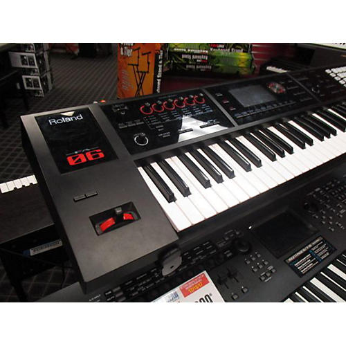used roland fa 06 midi controller guitar center. Black Bedroom Furniture Sets. Home Design Ideas