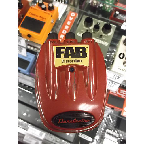 Danelectro Fab Distortion Red