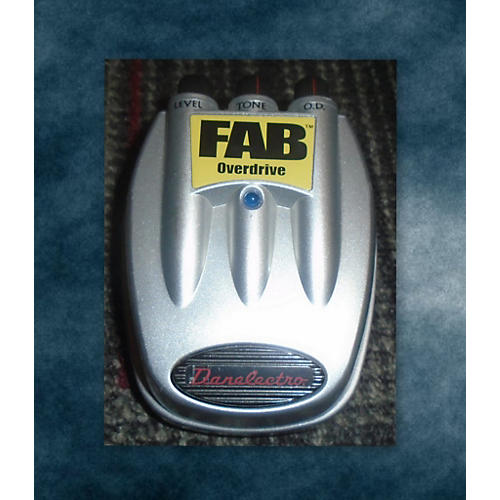 Danelectro Fab Overdrive Effect Pedal-thumbnail