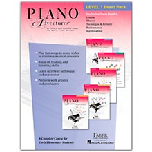 Faber Piano Adventures Faber Piano Adventures Level 1 Bravo Pack - The Basic Piano Method