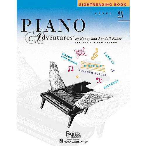 Faber Piano Adventures Faber Piano Adventures Sightreading Book Level 2A-thumbnail