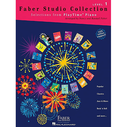 Faber Piano Adventures Faber Studio Collection - Selections from PlayTime Piano Level 1-thumbnail