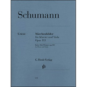 G. Henle Verlag Fairy-Tale Pictures Opus 113 Piano and Viola By Schumann by G. Henle Verlag
