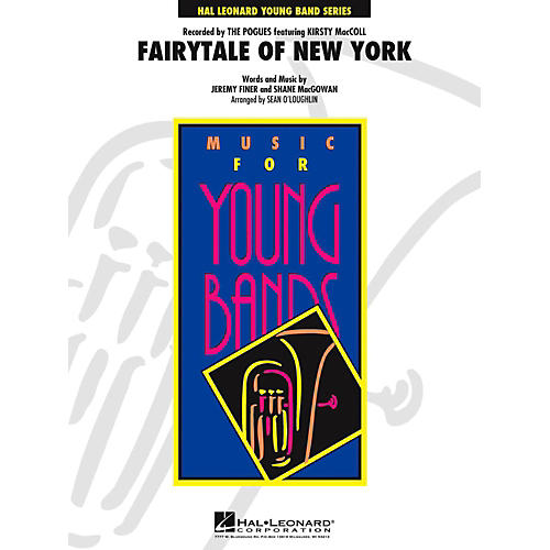 Hal Leonard Fairytale of New York Concert Band Level 3