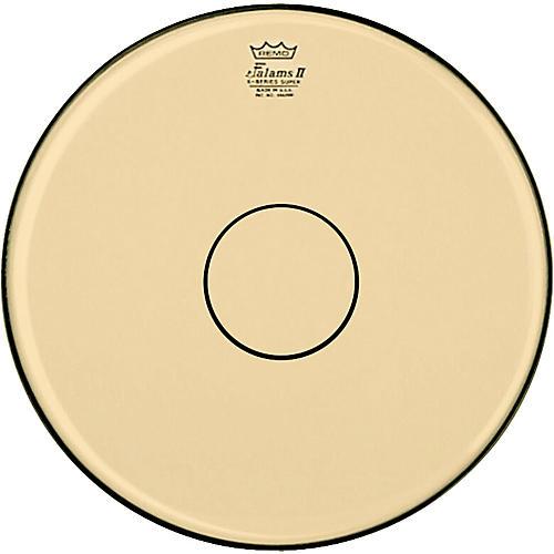Remo Falam K-Series Clear Dot Batter Drum Head Natural 14 in.